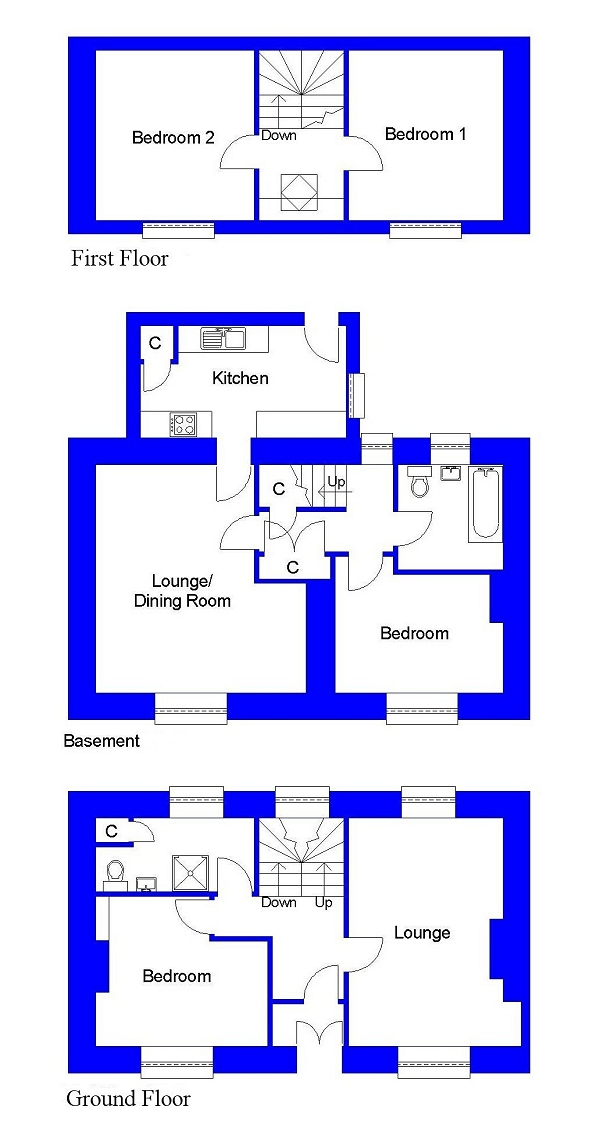 Lot 1 - Floorplan