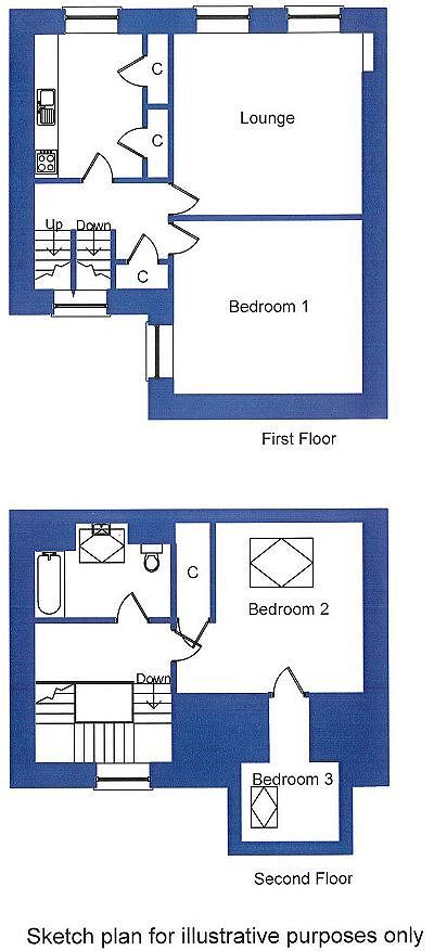 Owners Accommodation Floorplan